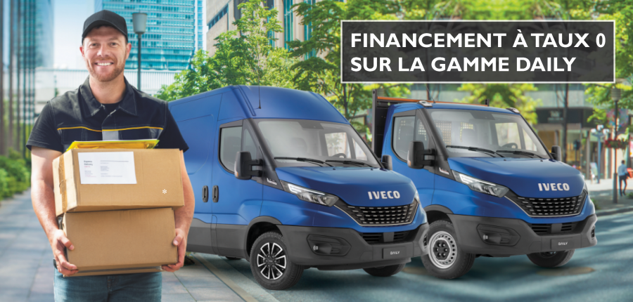 Offre DAILY - Finacement à taux 0